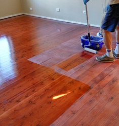 Floor Staining and Lime Wash