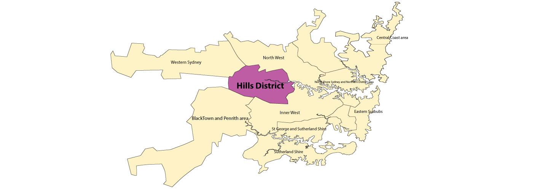 hillsdistrict map image